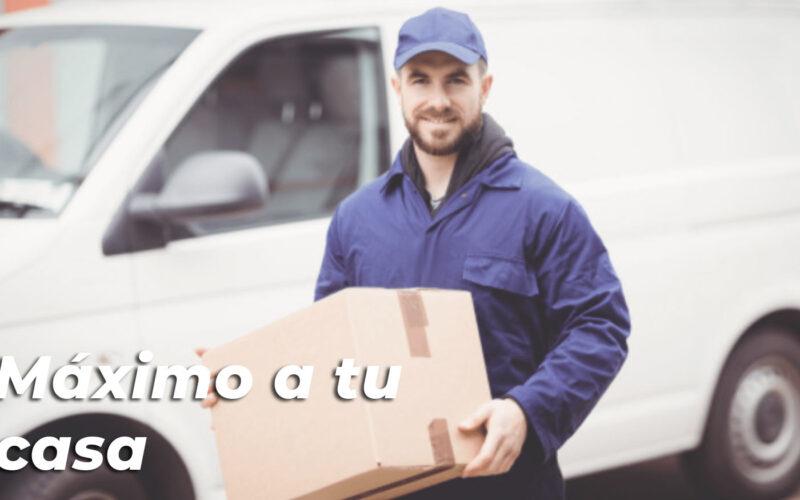 ENVÍOS A TODO EL PAÍS Máximo llega a tu casa
